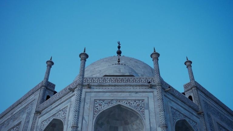 Image for Visiting the Taj Mahal, Agra
