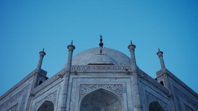 Image for Visiting the Taj Mahal, Agra
